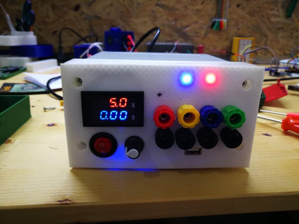Laboratuvar Tipi Güç Kaynağı Yapımı